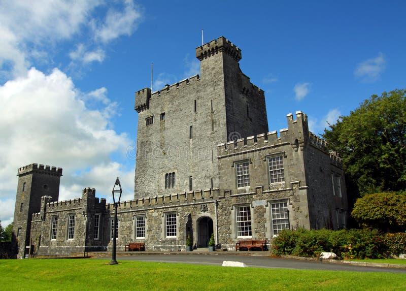 城堡clare co爱尔兰knappogue 免版税库存照片