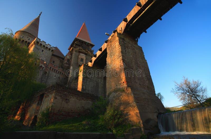 城堡corvinesti 库存图片