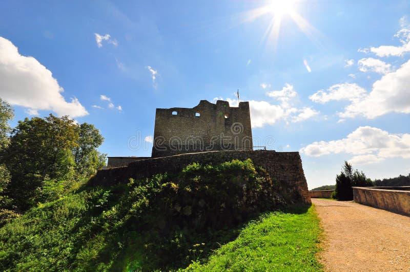 城堡derneck 免版税图库摄影