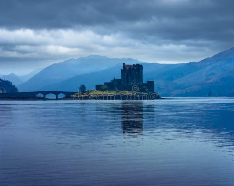 城堡donan eilan 库存图片