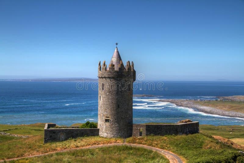 城堡doonagore 图库摄影