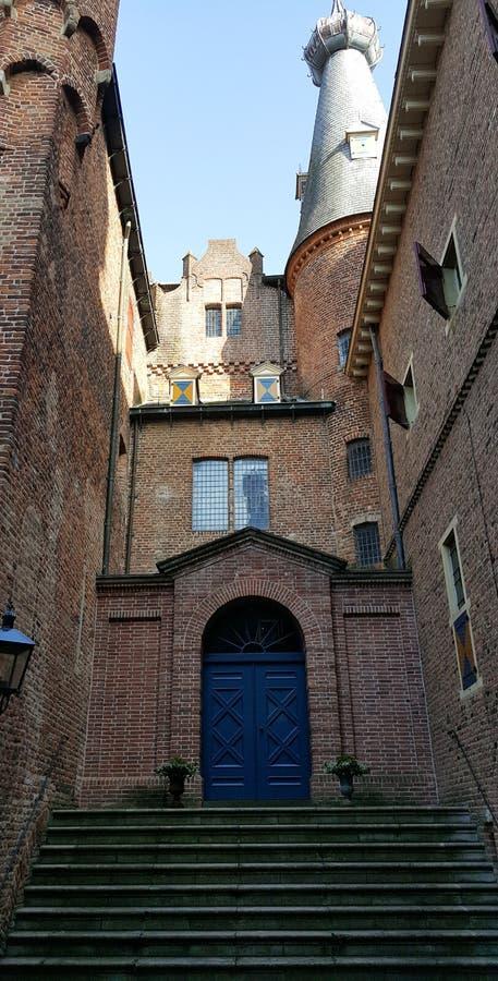 城堡Doorwerth 免版税库存照片