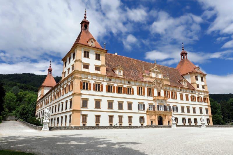 城堡eggenberg格拉茨 库存照片