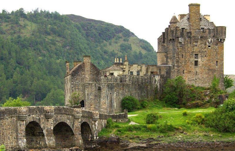 城堡Eilean Donan在苏格兰 库存照片