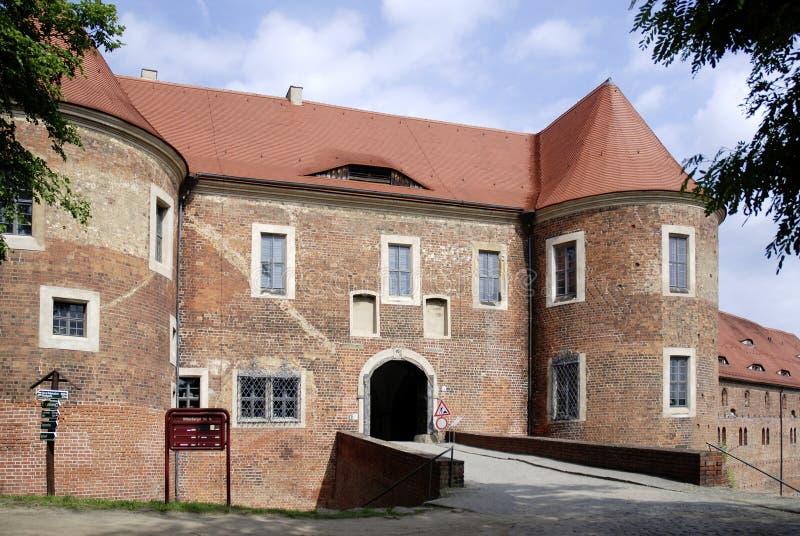 城堡Eisenhardt在巴德贝尔齐希-德国 图库摄影