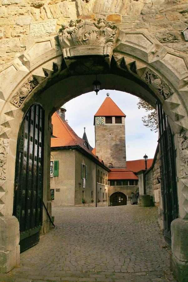 城堡elgersburg 免版税库存图片