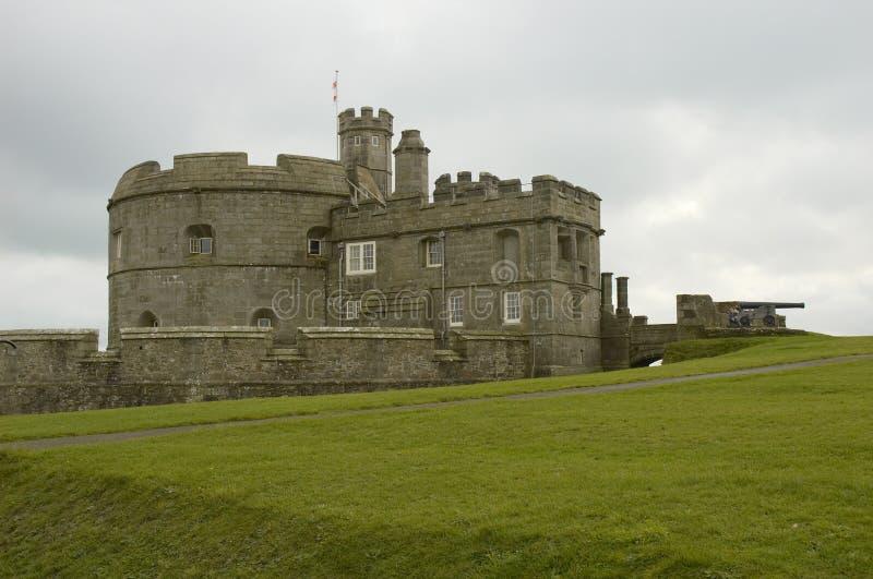 城堡falmouth 免版税图库摄影