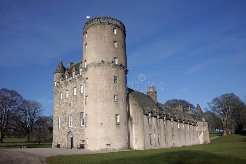 城堡fraser 库存照片