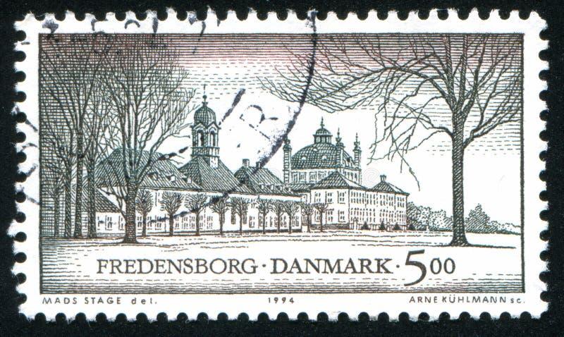 城堡Fredensborg北部西兰 免版税库存图片