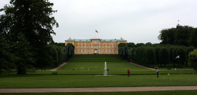 城堡frederiksberg 免版税库存照片