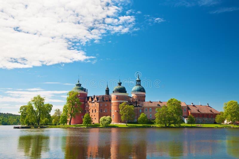 城堡gripsholm 库存照片