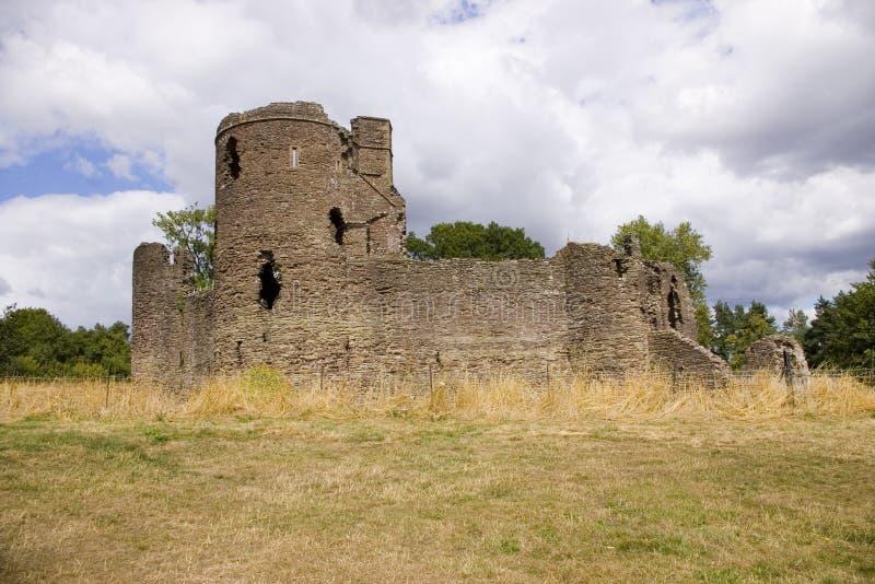 城堡grosmont 免版税图库摄影