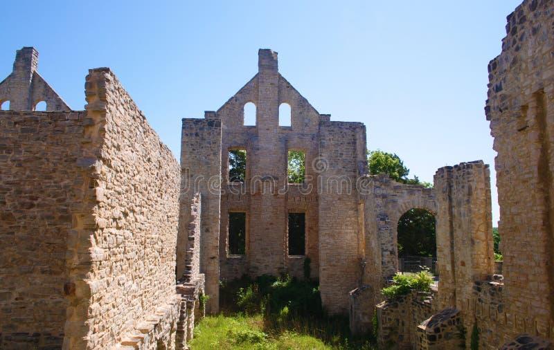 城堡ha tonka 免版税库存图片