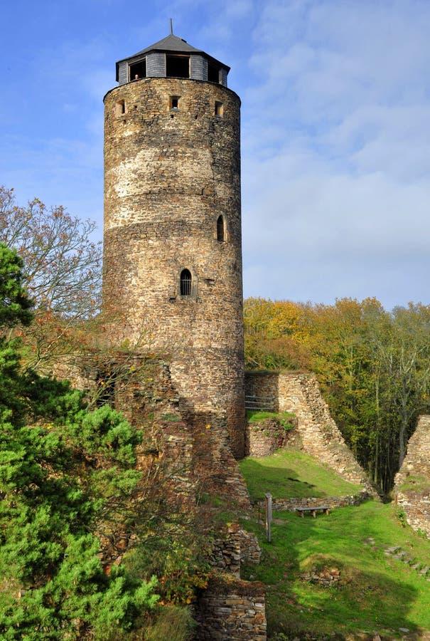 城堡Hasistejn 图库摄影
