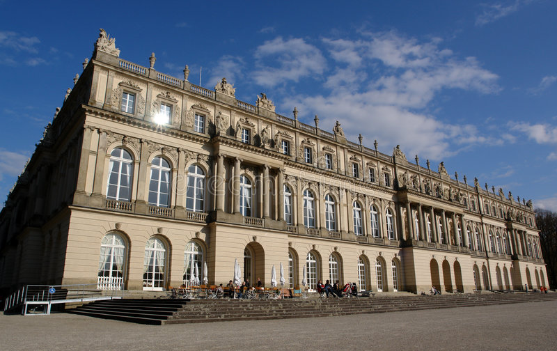 城堡herrenchiemsee 库存图片