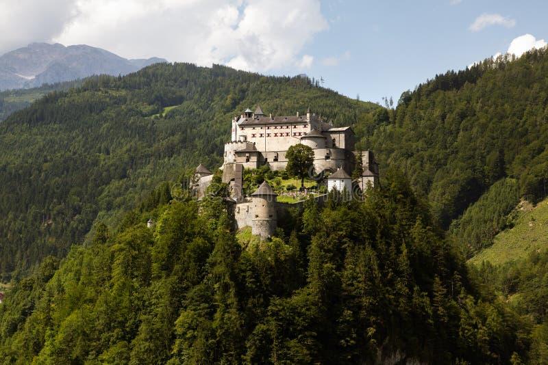 城堡Hohenwerfen 免版税库存照片
