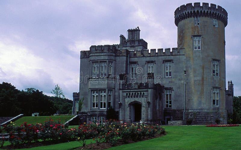城堡irelan clare co的dromoland 免版税库存图片