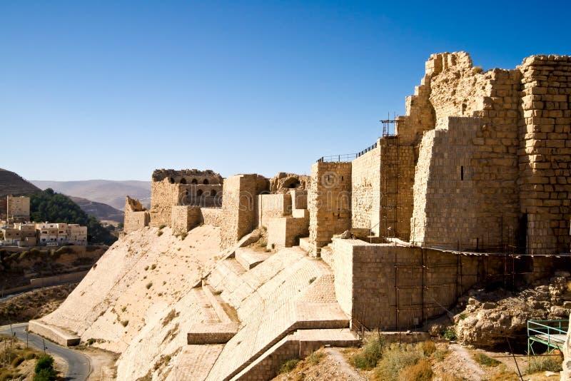 城堡karak 库存照片