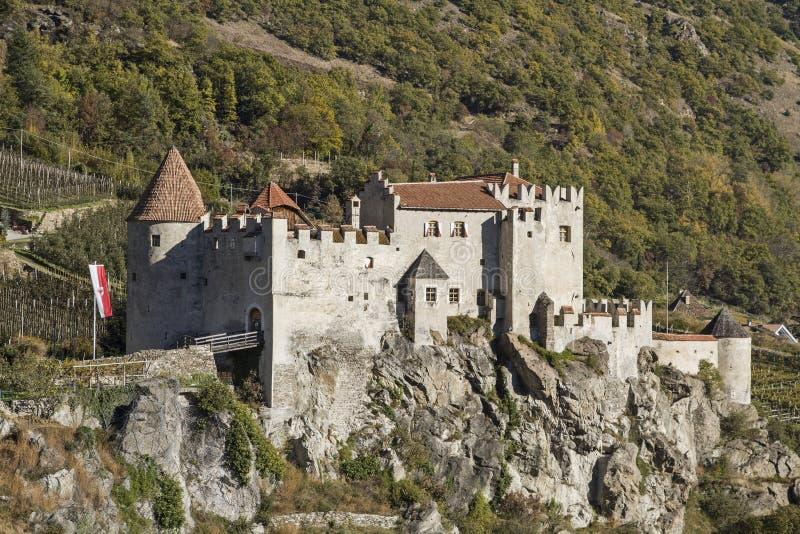 城堡Kastelbell 库存照片
