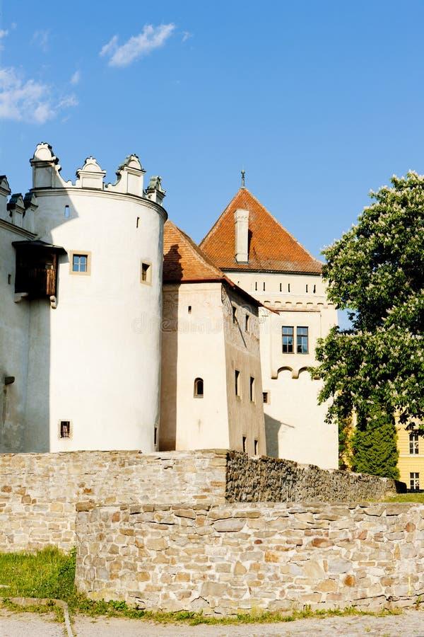 城堡kezmarok 库存图片