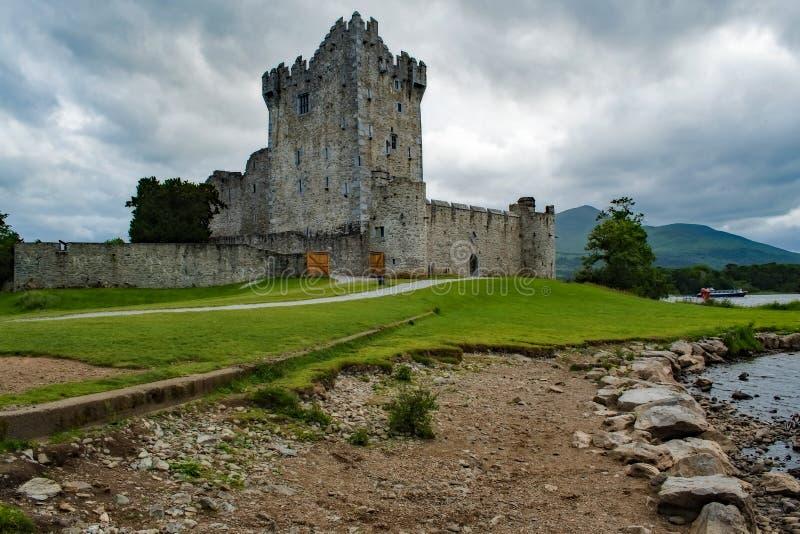 城堡killarney罗斯 库存照片