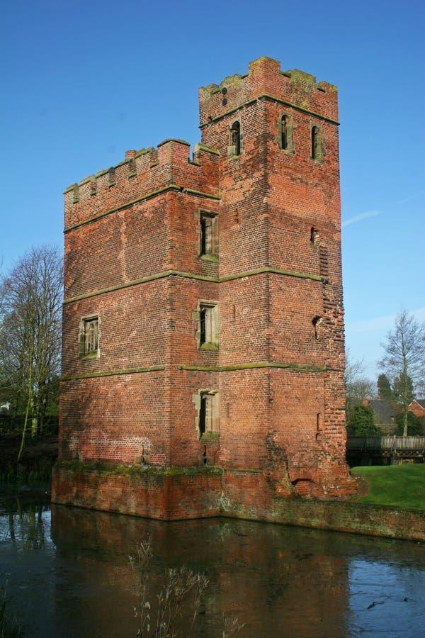 城堡kirby muxloe 库存照片