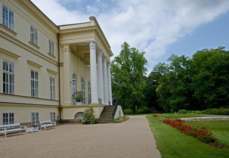 城堡Kostelec nad Orlici,捷克共和国 免版税库存图片