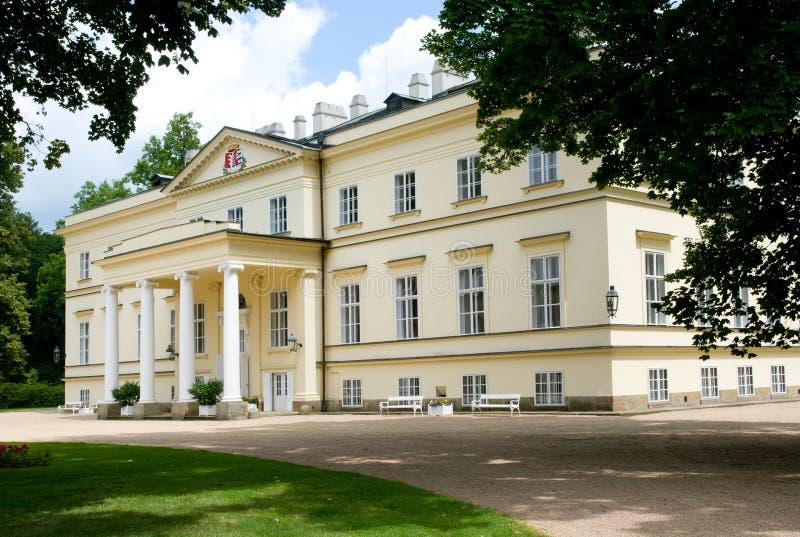 城堡Kostelec nad Orlici,捷克共和国 图库摄影
