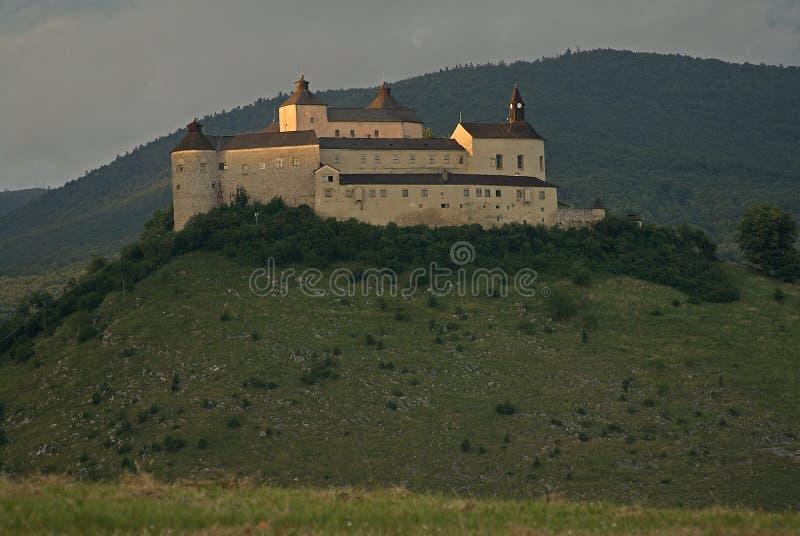 城堡Krasna Horka,斯洛伐克 库存图片