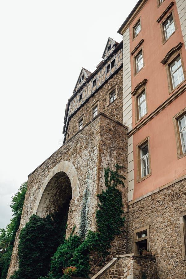 城堡ksiaz在Swiebodzice波兰 免版税图库摄影