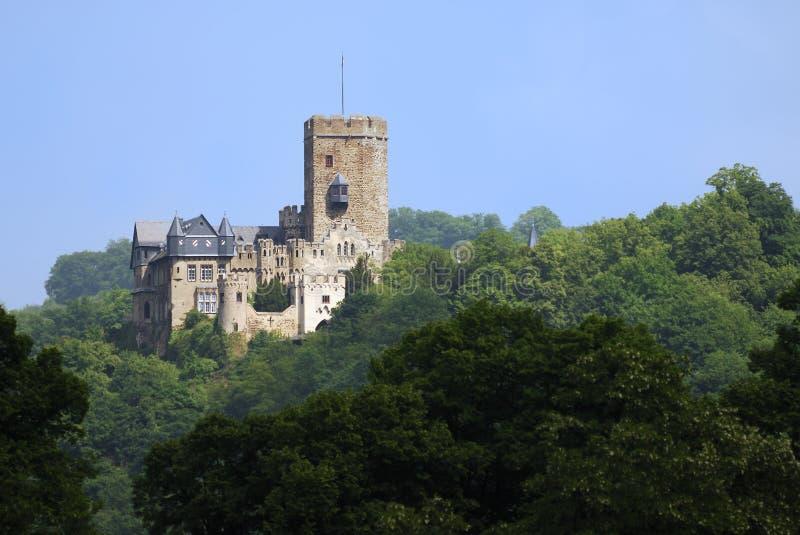 城堡lahneck 库存照片