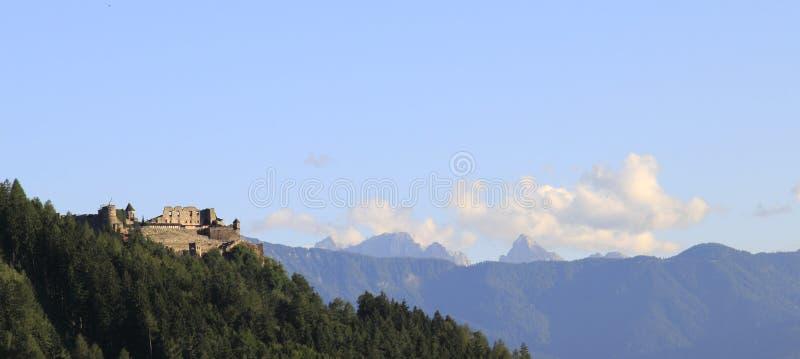 城堡Landskron,菲拉赫 免版税库存照片