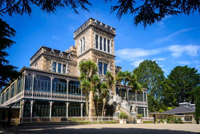城堡larnach新西兰 库存图片