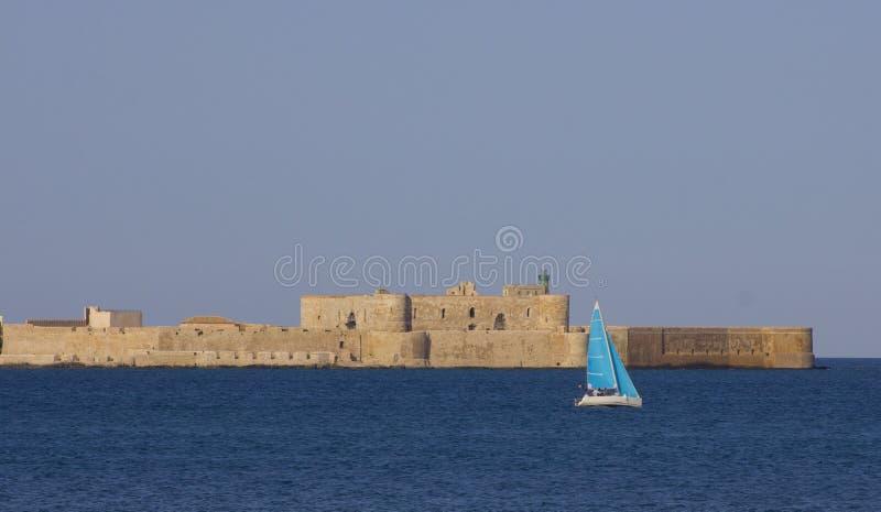 城堡maniace 库存图片