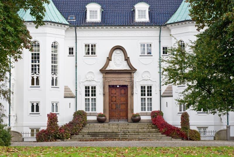 城堡marselisborg 库存图片