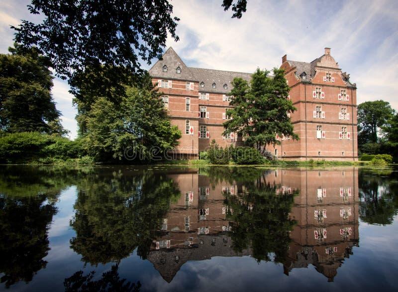 城堡Moyand,德国 库存图片