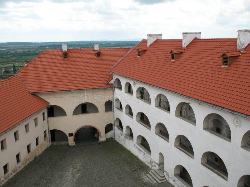 城堡palanok 图库摄影