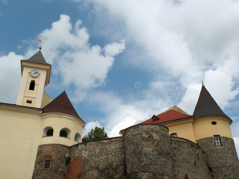 城堡palanok 库存图片