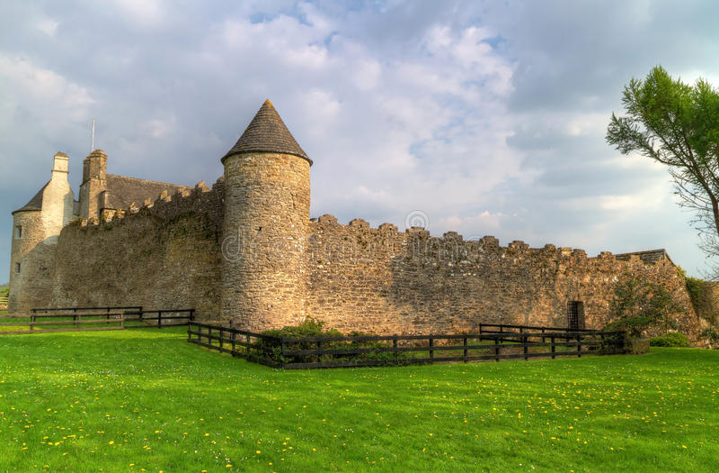 城堡parkes 图库摄影