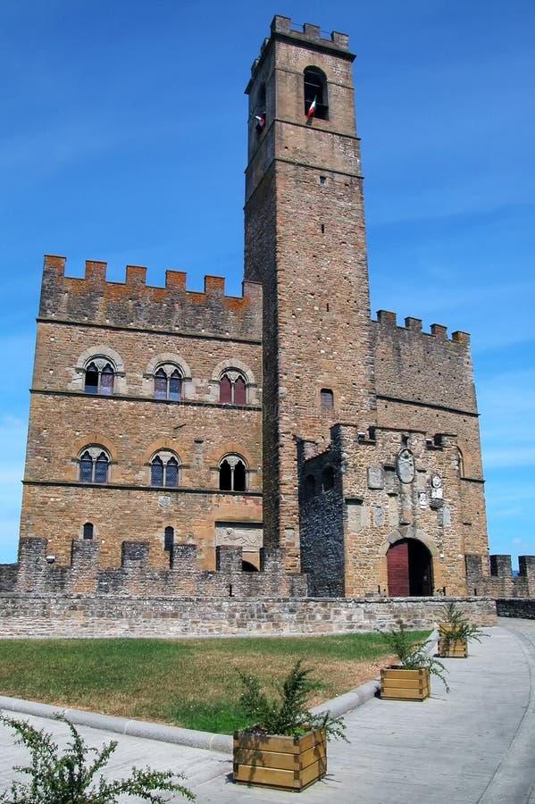 城堡poppi 库存图片