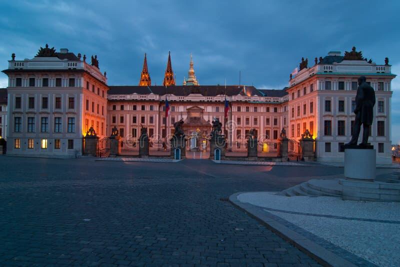 城堡prag 免版税图库摄影
