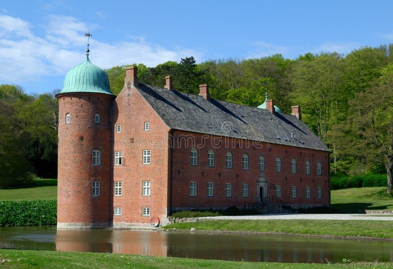 城堡rosenvold 库存图片