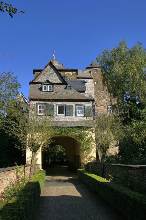 城堡runkel 库存图片