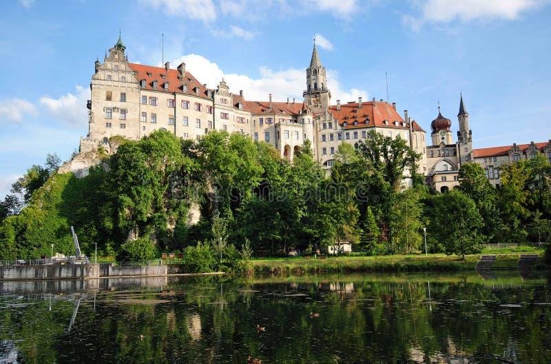 城堡sigmaringen 免费库存照片