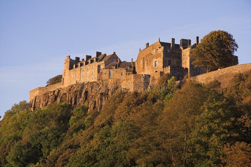 城堡stirling 库存照片