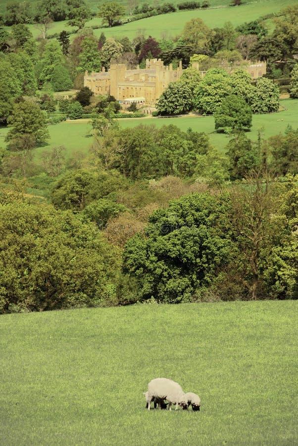 城堡sudeley 免版税库存图片