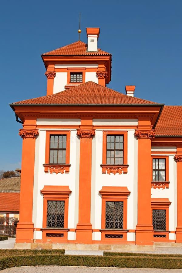 城堡troja 库存图片