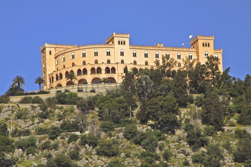 城堡utveggio 图库摄影