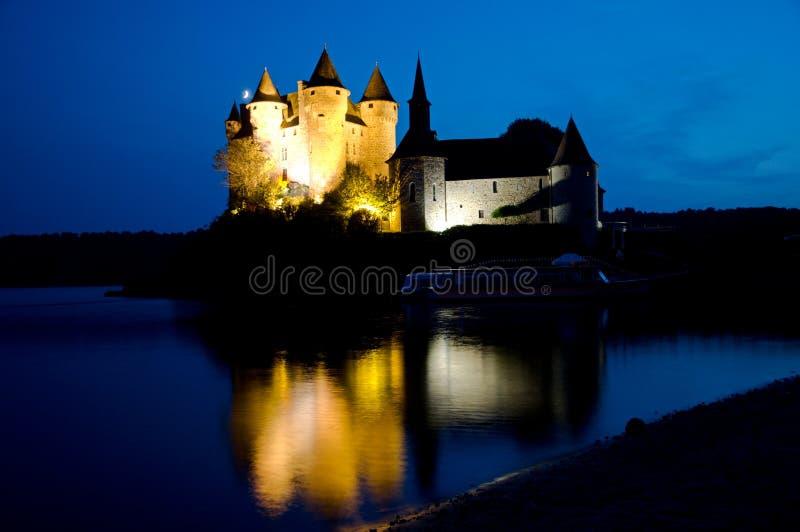 城堡Val,法国 免版税库存图片