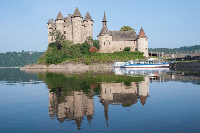 城堡Val,法国 图库摄影